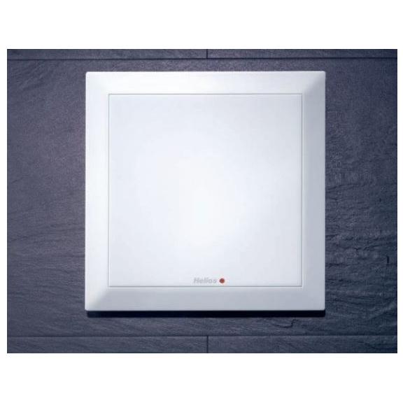Helios MiniVent M1/100 dvojotáčkový štandardný ventilátor - umiestnenie v stene