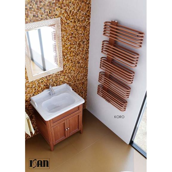 ISAN Koro kúpeľňový radiátor interiér