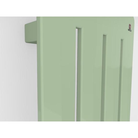 TERMA Aero V dizajnový radiátor - rôzne farebné prevedenia RAL6019 detail