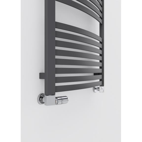 TERMA Dexter kúpeľňový radiátor 1220x600 Modern Gray detail