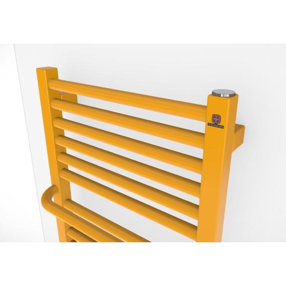 TERMA Lima kúpeľňový radiátor RAL1003 detail