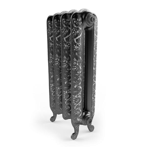 TERMA Kaszub retro radiátor pohľad zboku