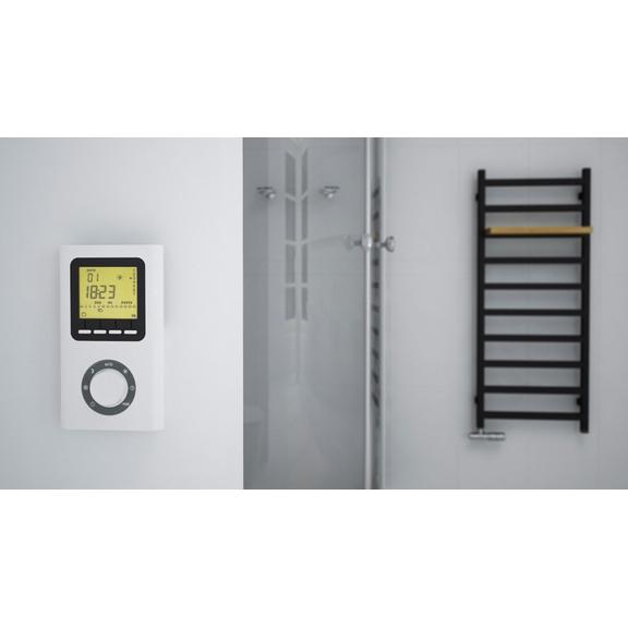 TERMA Simple dizajnový radiátor farba Heban - inšpirácie - teplo a dizajn