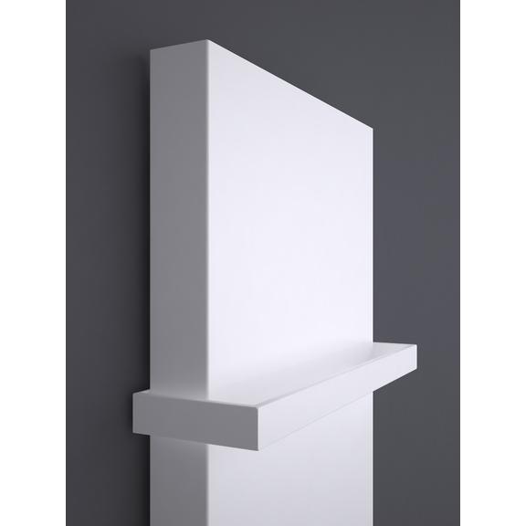 TERMA Case Slim dizajnový vertikálny radiátor biela rúčka