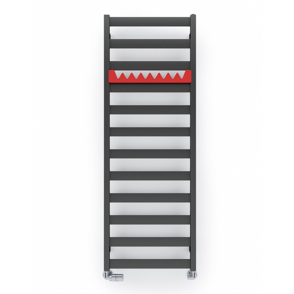 TERMA Vivo kúpeľňový radiátor 1390x500 farba Metallic Grey