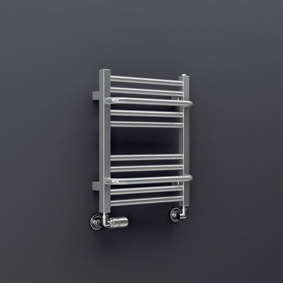 TERMA Lima kúpeľňový radiátor farba chróm 500x400