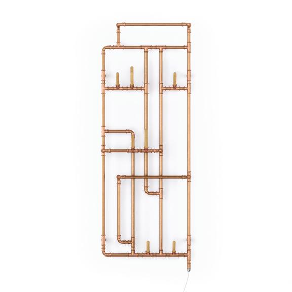 TERMA Pajak E dizajnový radiátor