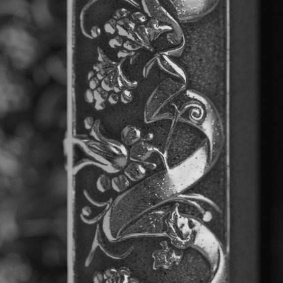 TERMA Kaszub retro radiátor detail vzor