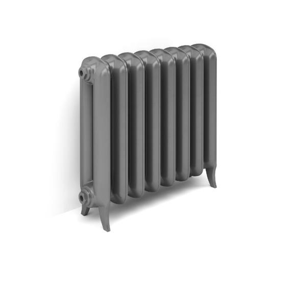 TERMA Plain retro radiátor 620x688 stojaci farba Flat Black