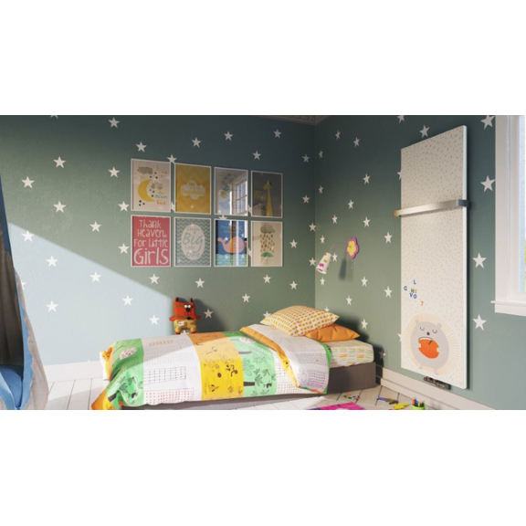 TERMA Case Slim dizajnový radiátor s potlačou - Detská izba