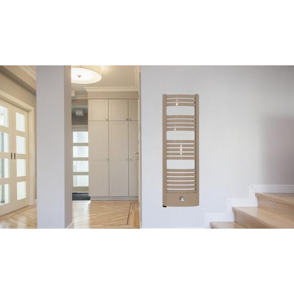 TERMA Dexter Pro ONE kúpeľňový radiátor RAL1019 - inšpirácie