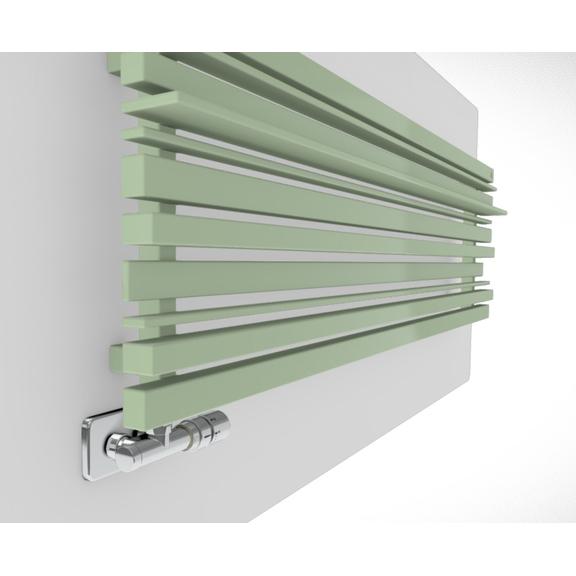 TERMA Sherwood H radiátor pod okno farebné prevedenia RAL6019