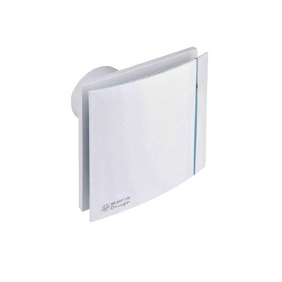 Ventilátor Silent 100 Design 12V CZ biely