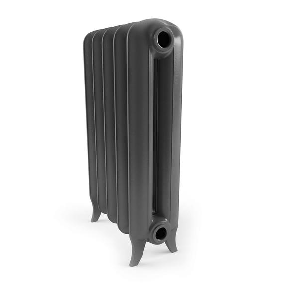 TERMA Plain retro radiátor telo zboku