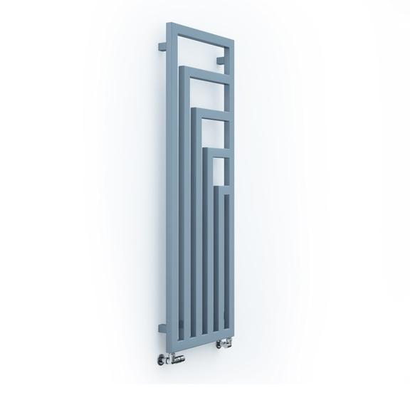 TERMA Angus V dizajnový radiátor 1300x440 farba RAL5014