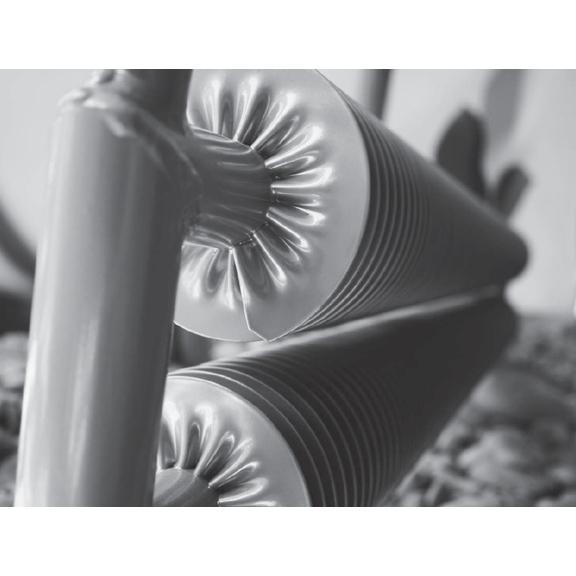 ISAN Spiral RAT2-S samostojný radiátor detail