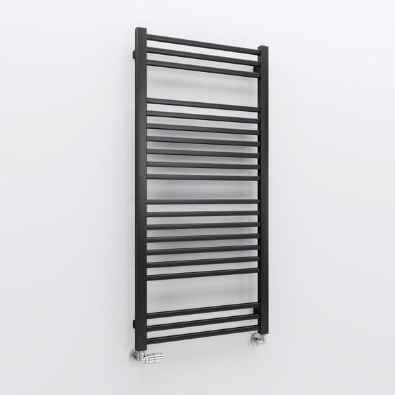 TERMA Bone kúpeľňový radiátor 1260x600 farba Soft 9005