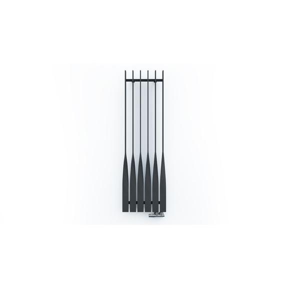 TERMA Cyklon V dizajnový radiátor 1600x495 farba Modern Grey