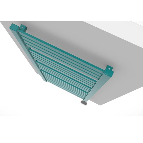TERMA Mantis dizajnový radiátor detail zhora