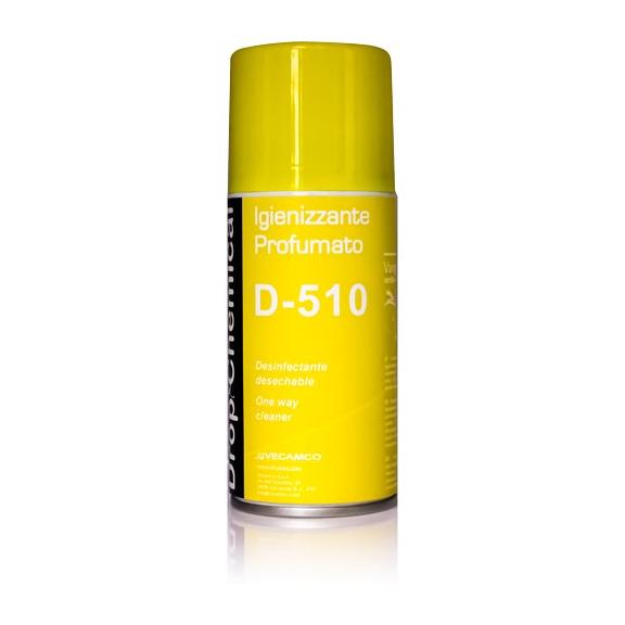 Vecamco D-510 parfumovaný dezinfekčný sprej do klimatizácie Vanilla