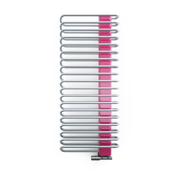 TERMA Michelle dizajnový radiátor 1200x500 Chrome a RAL4010