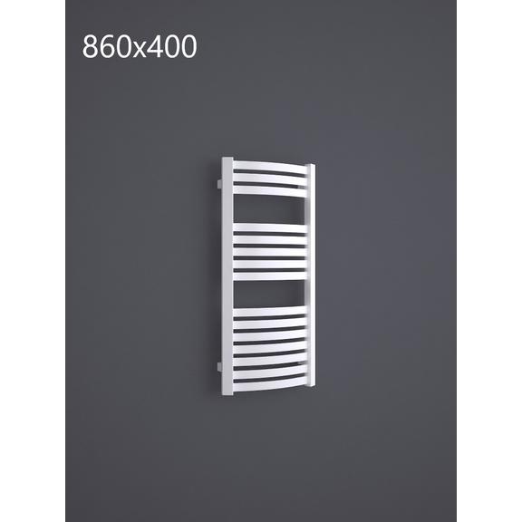 TERMA Dexter kúpeľňový radiátor RAL9016 860x400