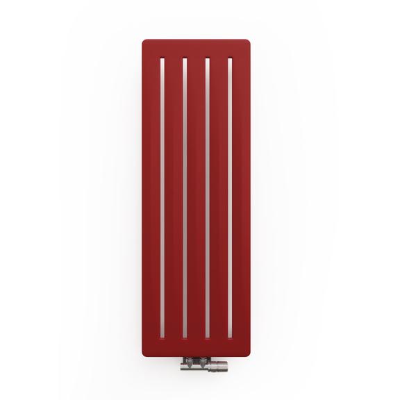 TERMA Aero V dizajnový radiátor 1500x410 farba Metallic Red