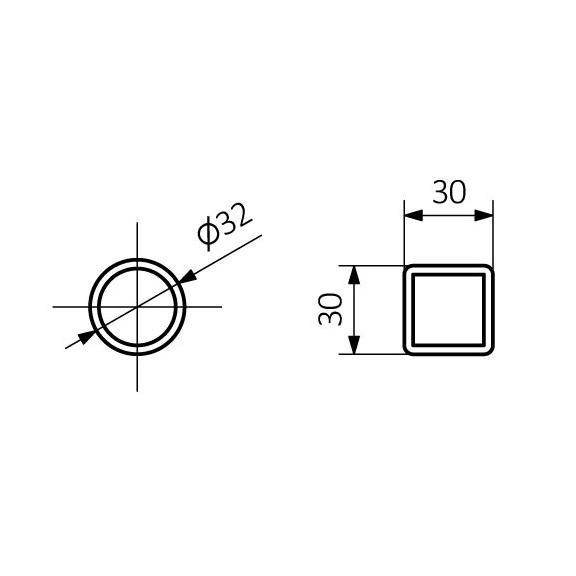 TERMA Triga AN dizajnový radiátor napájanie