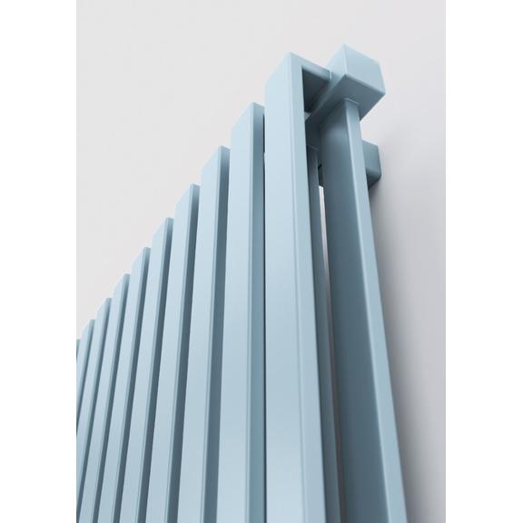 TERMA Nemo dizajnový radiátor 530x915 farba Pastel Blue detail1
