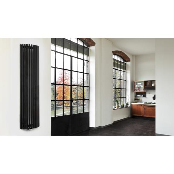TERMA Triga AW dizajnový radiátor v interiéri - otvorený priestor