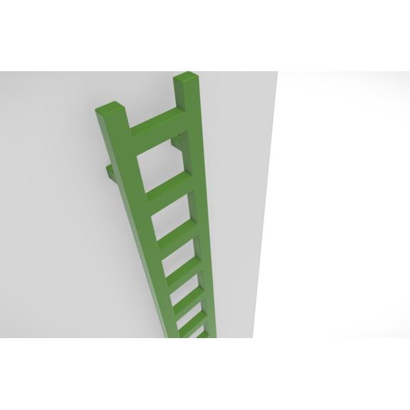 TERMA Easy vertikálny radiátor farebné prevedenia - RAL6018