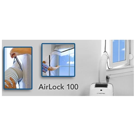 Mobilné klimatizácie tesnenie okien Trotec Airlock 100