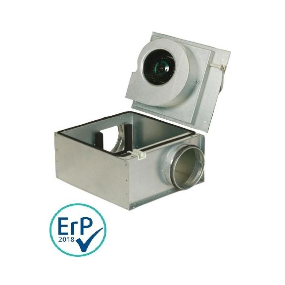 Systemair KVK Slim 100EC kruhový ventilátor