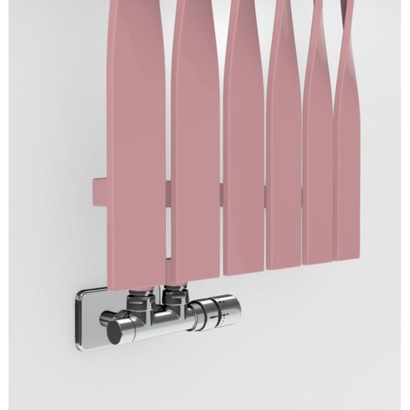 TERMA Cyklon V dizajnový radiátor -  farebné prevedenia RAL3015