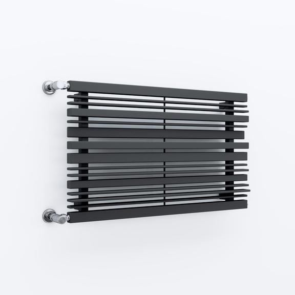 TERMA Sherwood H radiátor pod okno 540x1600 farba Metallic Grey