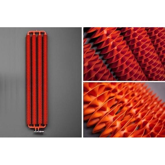 TERMA Ribbon V retro radiátor farby a moderný dizajn