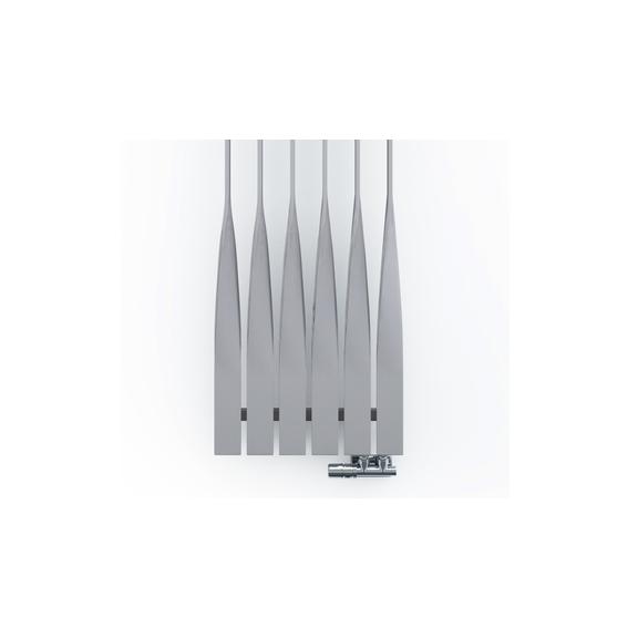 TERMA Cyklon V dizajnový radiátor 1600x495 - Metallic Beige detail