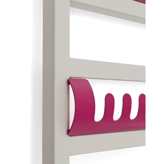 TERMA Simple dizajnový radiátor - farebné háčiky Simple