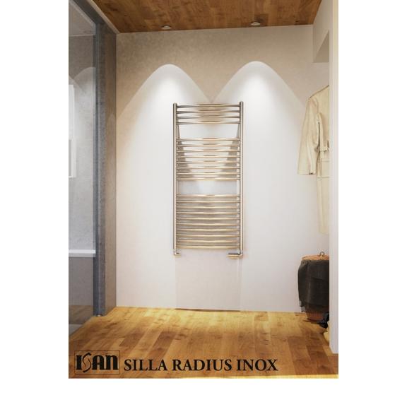 ISAN Silla Radius Inox nerezový radiátor