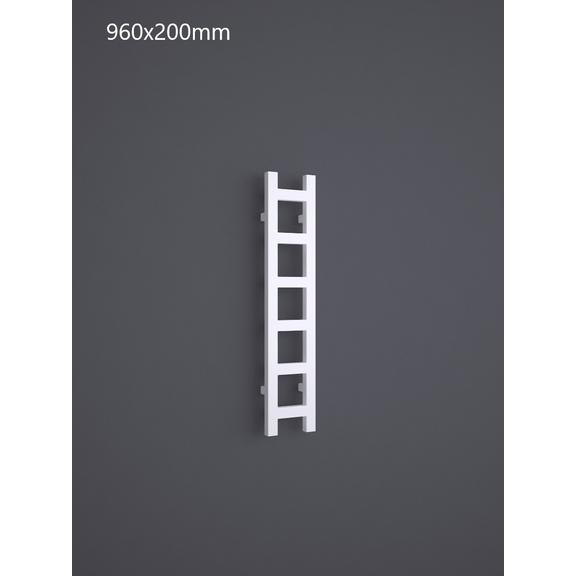 TERMA Easy One vertikálny radiátor 960x200 RAL 9016