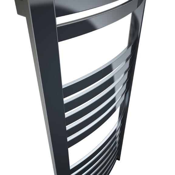 TERMA Dexter One kúpeľňový radiátor 860x400 farba chróm