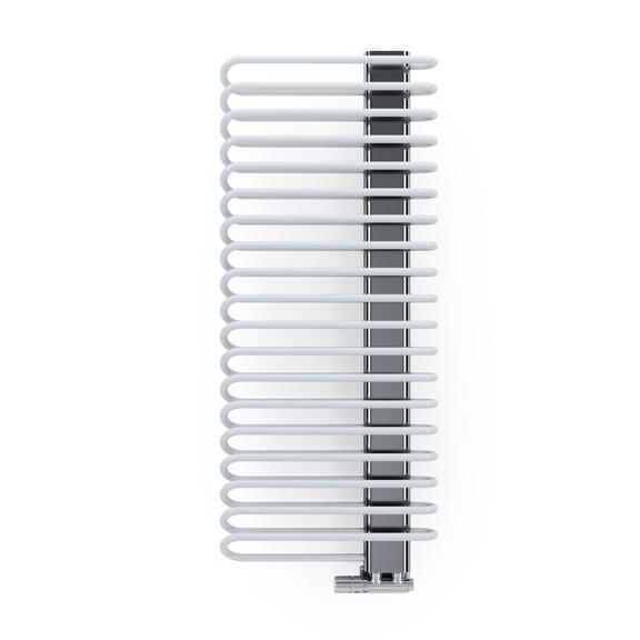TERMA Michelle dizajnový radiátor 1200x500 RAL9016 a Chrome