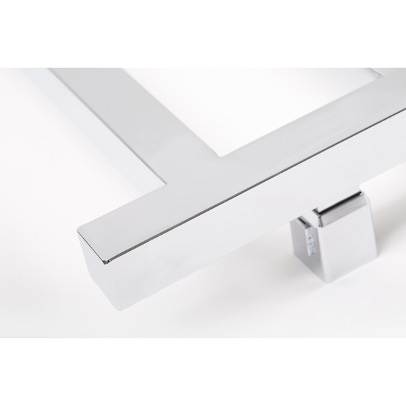TERMA Simple dizajnový radiátor 960x500 Chróm detail 2