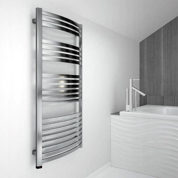 TERMA Dexter One kúpeľňový radiátor farba Chróm