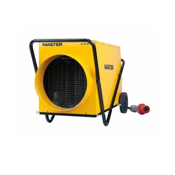 Master B 30 EPR profesionálny elektrický ohrievač s ventilátorom a s možnosťou pripojenia pružnej hadice