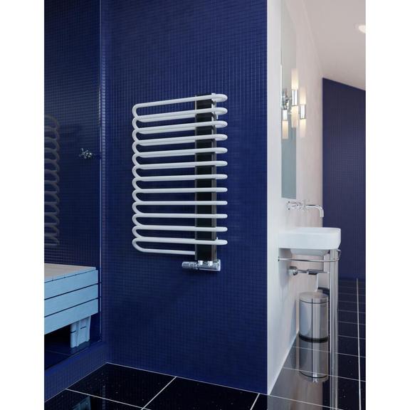 TERMA Michelle dizajnový radiátor 1200x500 RAL9016 a Chróm