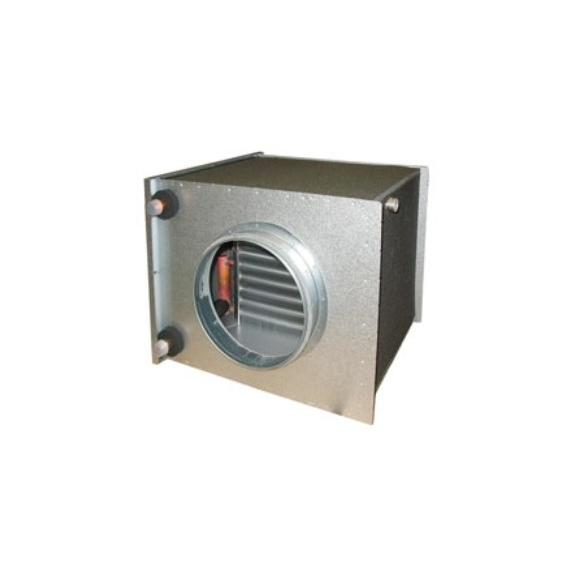 Systemair CWK vodný chladič pre kruhové potrubie