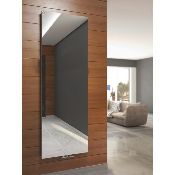 TERMA Case Slim dizajnový vertikálny radiátor - Zrkadlo