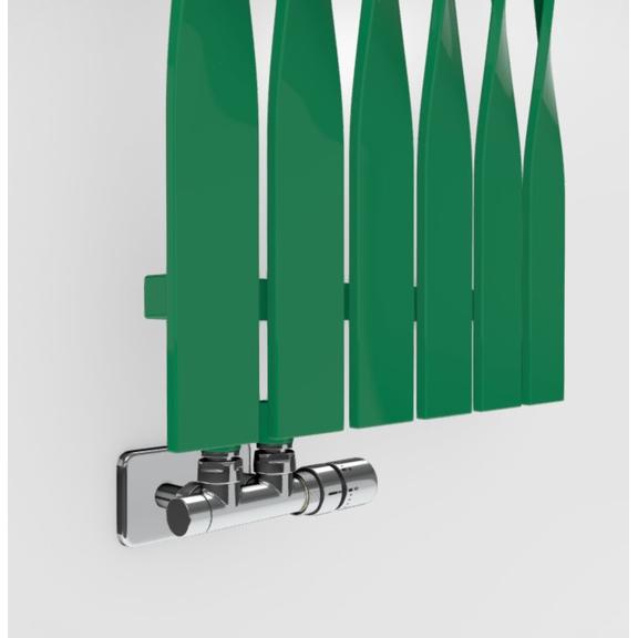 TERMA Cyklon V dizajnový radiátor -  farebné prevedenia RAL6024