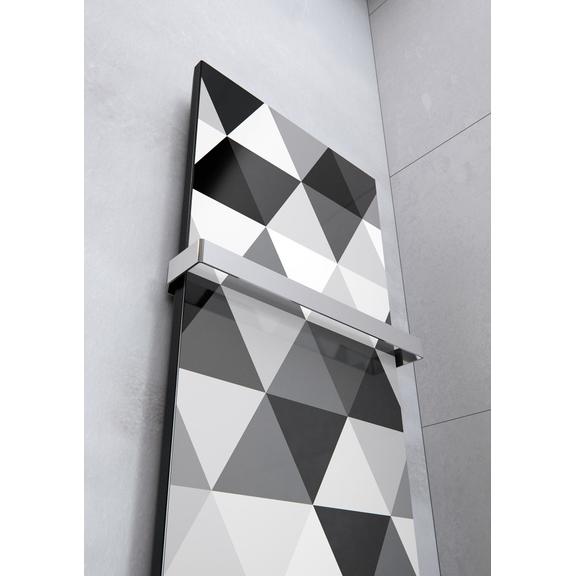 TERMA Case Slim dizajnový radiátor s potlačou - vzor 5